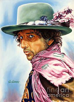 Bob Dylan by Spiros Soutsos