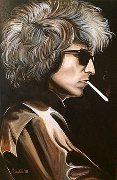 Bob Dylan by Suzette Castro