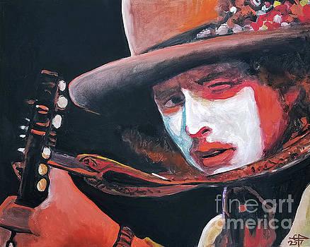 Bob Dylan by Tom Carlton