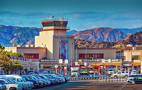 Bob Hope Burbank Airport by David Zanzinger