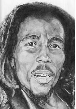 Bob Marley by Ania  Kuchta