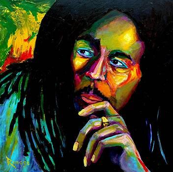 Bob Marley by Bernie Rosage Jr