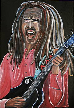 Bob Marley  by George Chacon