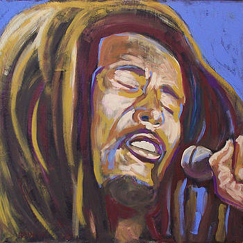 Bob Marley by Buffalo Bonker