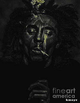 Bob Marley by Kanisha Moye