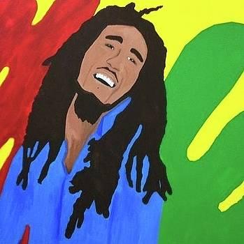 Bob Marley by Nancy Hoffman