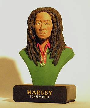 Bob Marley by Nijel Binns