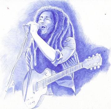 Bob Marley by Oleg Kozelskiy