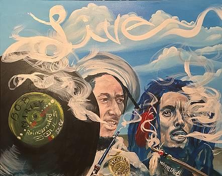 Bob Marley - Perpetual High by Sean Ivy aka Afro Art Ivy