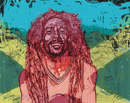 Bob Marley by Suzanne Gee