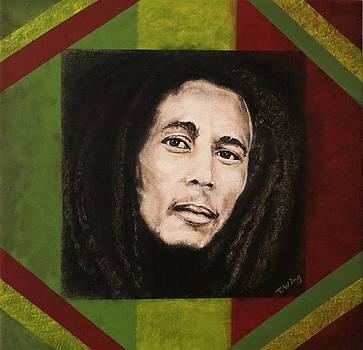 Bob Marley by Teresa Wing