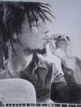 Bob Marley2 by Deepak Battal