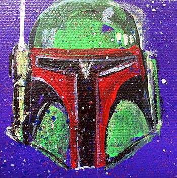Boba Fett by Mary Gallagher-Stout