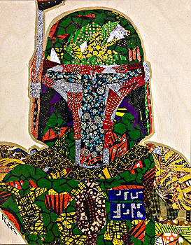 Boba Fett Star Wars Afrofuturist Collection by Apanaki Temitayo M