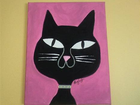 Bobble Cat by Mary Logan jozefik