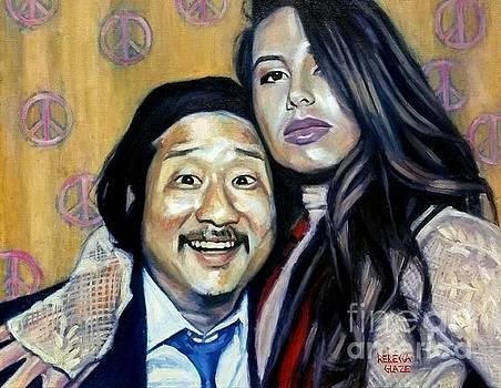 Bobby Lee and Khalyla  by Rebecca Glaze