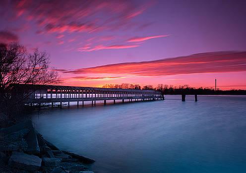 Boblo Ferry Dock  by Cale Best