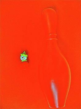 Bobo and Bowling Pin by Ricky Sencion