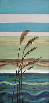 Bob's Beach by Debbie Frame Weibler