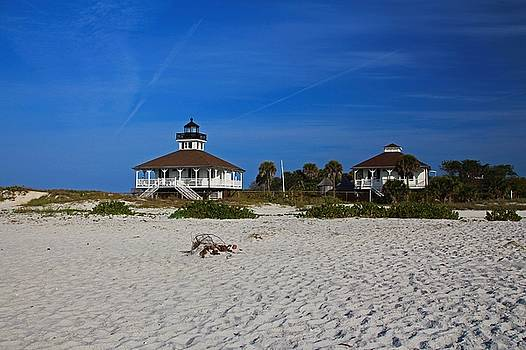 Boca Grande Lighthouse VIII  by Michiale Schneider