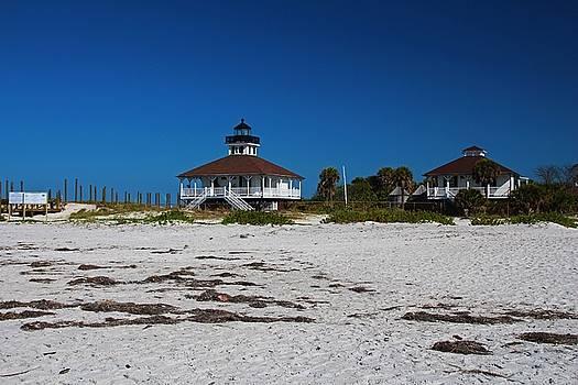 Boca Grande Lighthouse X by Michiale Schneider