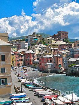 ITALIAN ART - Boccadasse 2-Genova, Italy