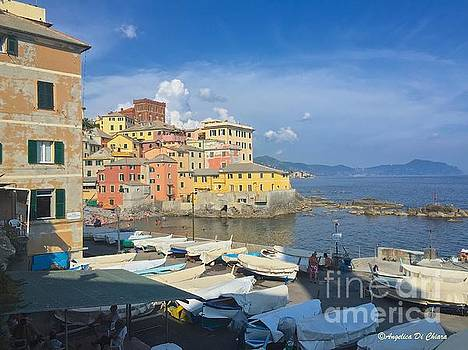 ITALIAN ART - Boccadasse-Genova, Italy
