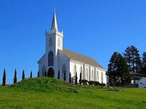 Bodega Bay Church by Phil Bearce
