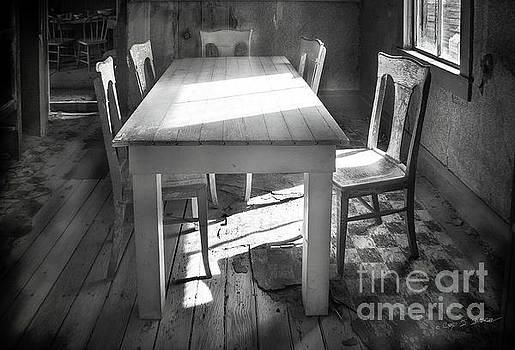 Bodie Breakfast Table by Craig J Satterlee