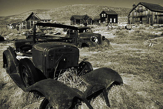 Peter Potter - Bodie Ghost Town California - Vintage Photo Art Print