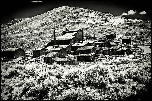 Bodie Ghost Town Mine Ruins by Roger Passman