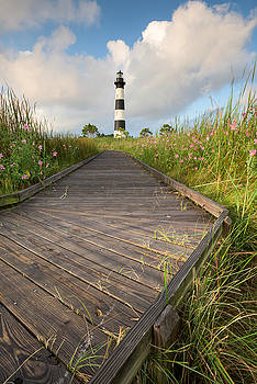 Bodie Island Lighthouse NC Outer Banks Cape Hatteras National Seashore by Mark VanDyke
