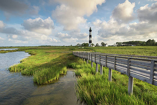 Bodie Island Lighthouse North Carolina by Mark VanDyke