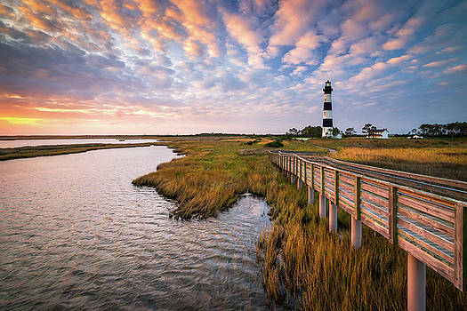 Bodie Island Lighthouse Outer Banks North Carolina OBX NC by Dave Allen