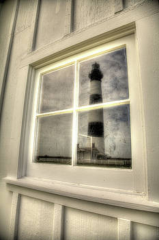 Bodie Island Lighthouse Reflections by Dave Ross