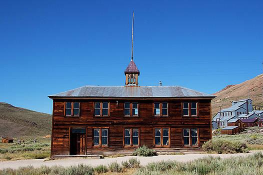 Bodie Schoolhouse 1 by Chris Brannen