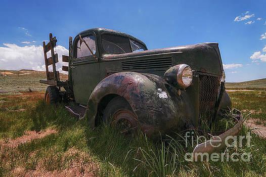 Bodie Truck by Sharon Seaward