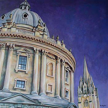 Bodleian Library at Dusk by Andy Lloyd