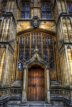 Yhun Suarez - Bodleian Library Door - Oxford