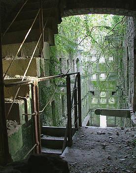 Bodmin Gaol Cornwall England by Heather Lennox