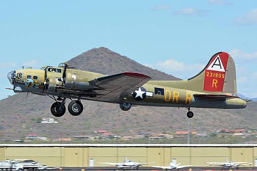 Boeing B-17G Flying Fortress N93012 Nine-O-Nine Deer Valley Arizona April 13 2016 by Brian Lockett