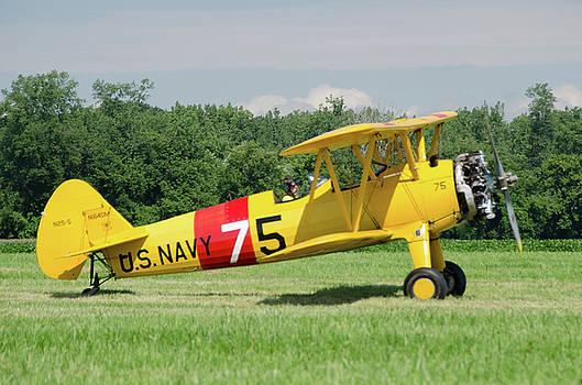 Boeing N2S-5 N1640M by Guy Whiteley