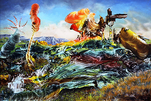 Bogomil Landscape by Otto Rapp