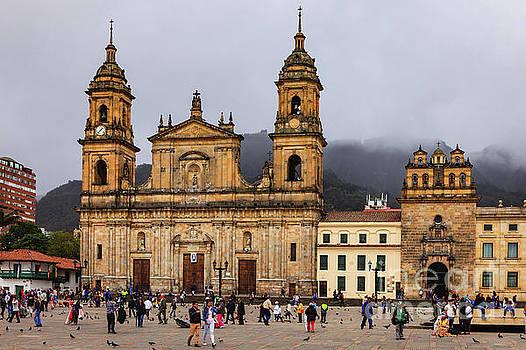 Bogota, Colombia - Catedral Primada on Plaza Bolivar by Devasahayam Chandra Dhas