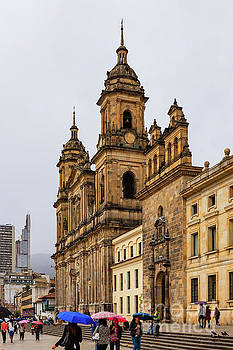 Bogota, Colombia - Catedral Primada on Plaza Bolovar by Devasahayam Chandra Dhas