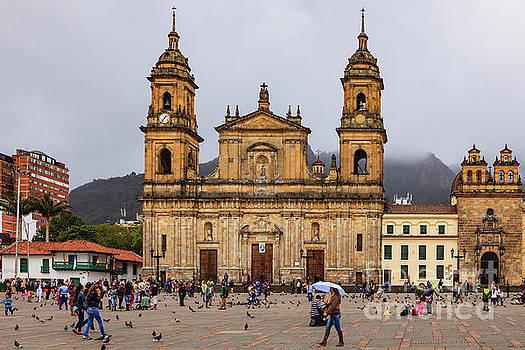 Bogota, Colombia - Plaza Bolivar - Catedral Primada - Spanish Colonial Arch by Devasahayam Chandra Dhas
