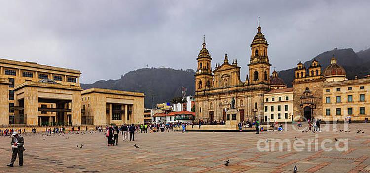 Bogota, Colombia - Plaza Bolivar North Eastern Corner Panorama by Devasahayam Chandra Dhas