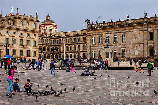 Bogota, Colombia - Plaza Bolivar - Spanish Colonial Architecture by Devasahayam Chandra Dhas