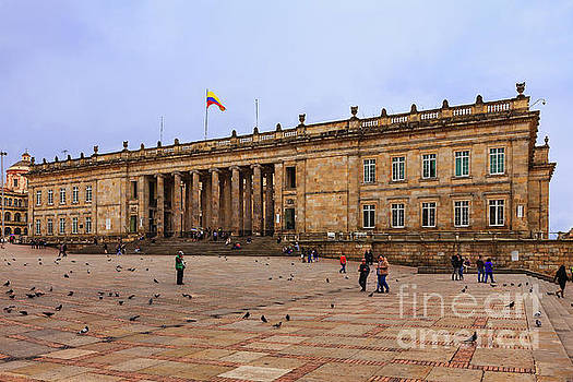 Bogota, Colombia - Plaza Bolivar - The seat of the Government by Devasahayam Chandra Dhas