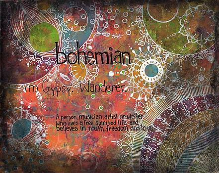 Bohemian by Clover Moon Designs Peggy Sowers-Heckman